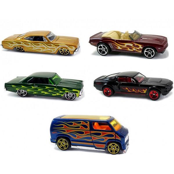 Hot Wheels Подарочный набор 5 машинок 1806