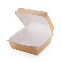 Коробка для бургеров крафт 150х70х40мм
