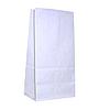 Белый пакет с прямым дном 120х80х250мм