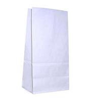 Белый пакет с прямым дном 180х120х290мм