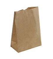 Крафт пакет с прямым дном 80х50х170мм