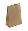 Крафт пакет с прямым дном 250х120х80мм