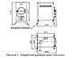 Печь отопительная ТМФ Авоська Inox антрацит с нержавеющим конвектором, трубы, ножки, фото 3