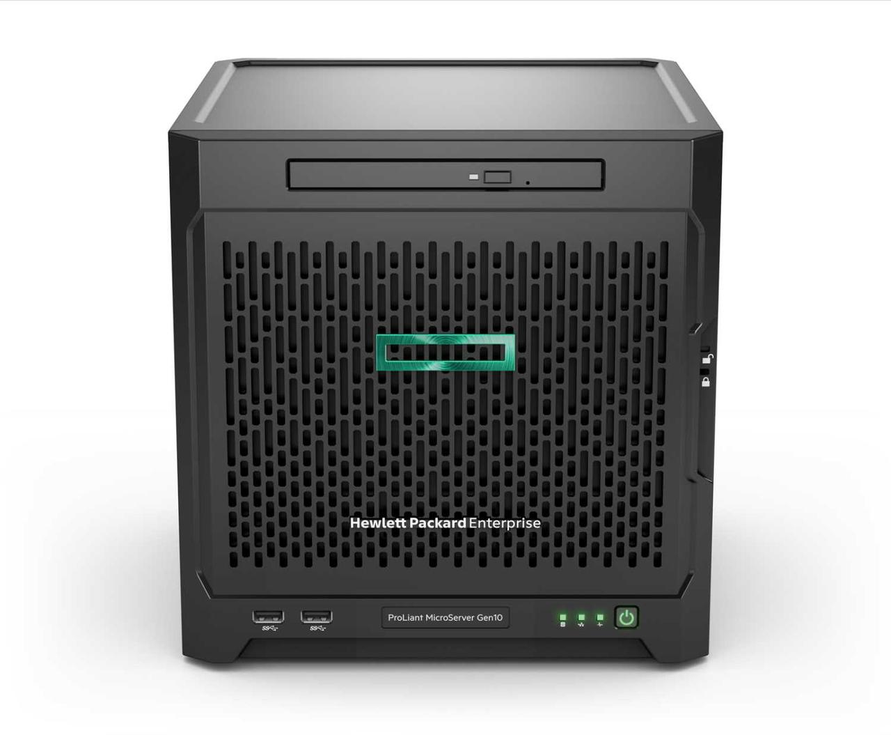 Сервер HPE ProLiant MicroServer Gen10 X3418 8G 4LFF 200W Performance Server (P07203-421) Golden Offer