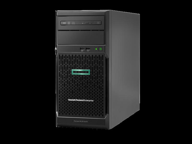 Сервер HPEP06781-425ML30 Gen10, 1x Intel Xeon E-2124 4C 3.3GHz, 1x8GB-U DDR4, S100i/ZM (RAID 0,1,5,10) noHDD