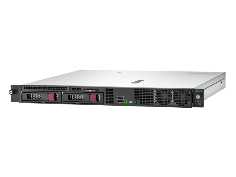 Сервер HPE P08335-B21 DL20 Gen10, 1x Intel Xeon E-2124 4C 3.3GHz, 1x8GB-U DDR4, S100i/ZM (RAID 0,1,5,10) noHDD