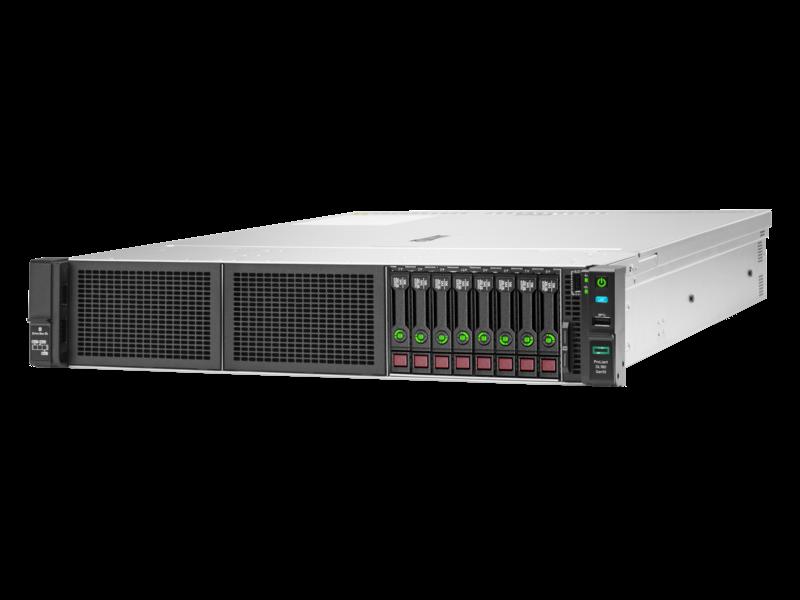 Сервер HPEProLiant DL180 Gen10, 1(up2)x 4110 Xeon-S 8C 2.1GHz, 1x16GB-R DDR4, S100i/ZM (RAID 0,1,5,10) noHDD