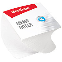 "Бумага для заметок белая 8х8х4 Berlingo ""Classic"" спираль # ZP7604"