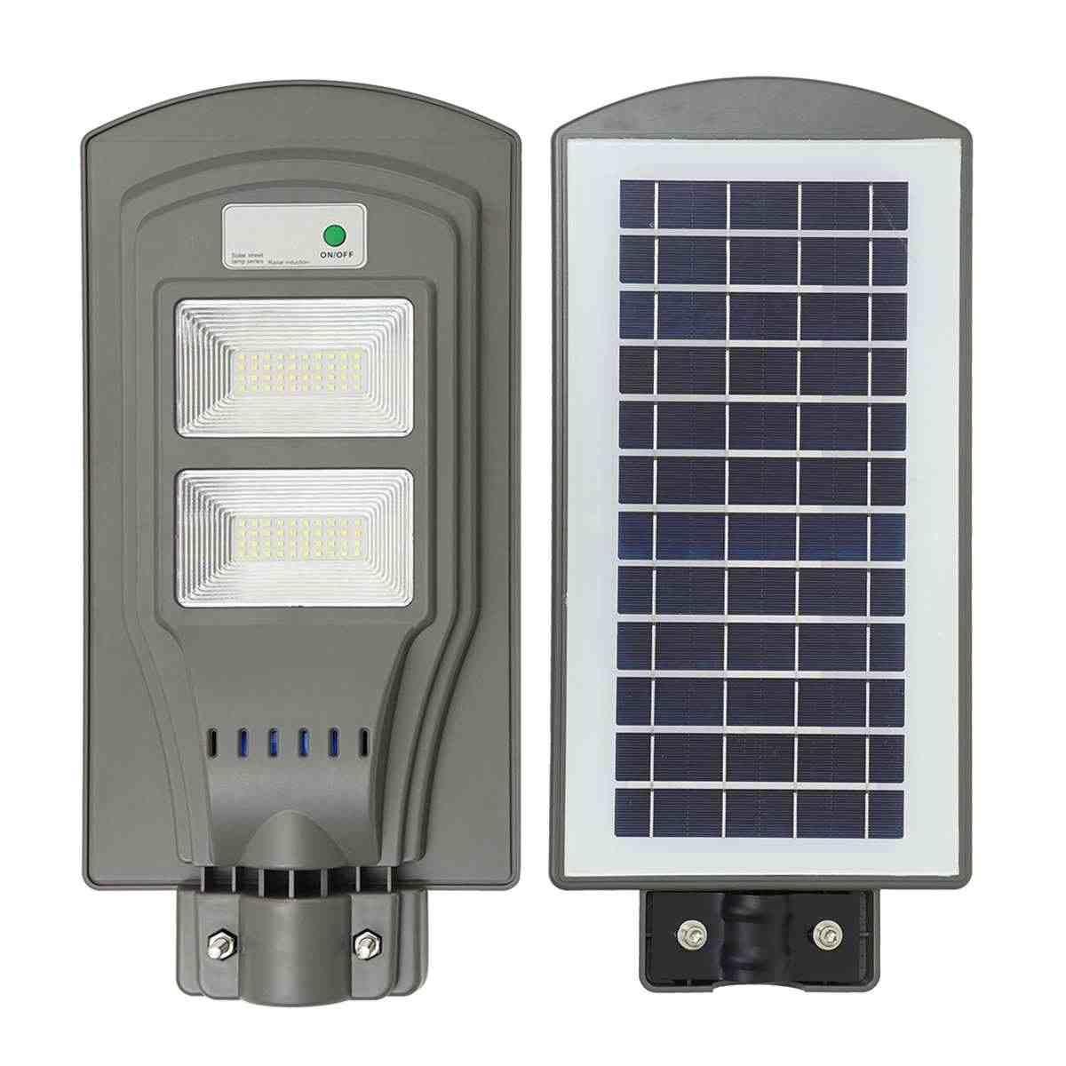 Уличный фонарь на солнечных батарейках 40 W