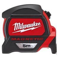 Рулетка строительная с магнитом Milwaukee 5 м