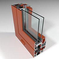 Фасадная алюминиевая система с терморазрывом СИАЛ КПТ60