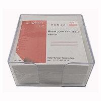 Бумага для заметок белая 9х9х5 см. в подставке Kuvert