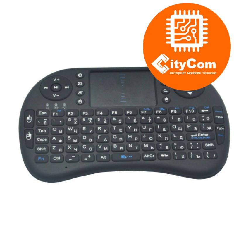 Мини клавиатура QWERTY с тачпадом мышь мультимедиа RT-MWK08 Арт.2514