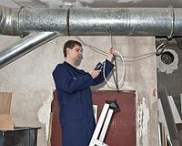 Монтаж и дезинфекция систем вентиляции