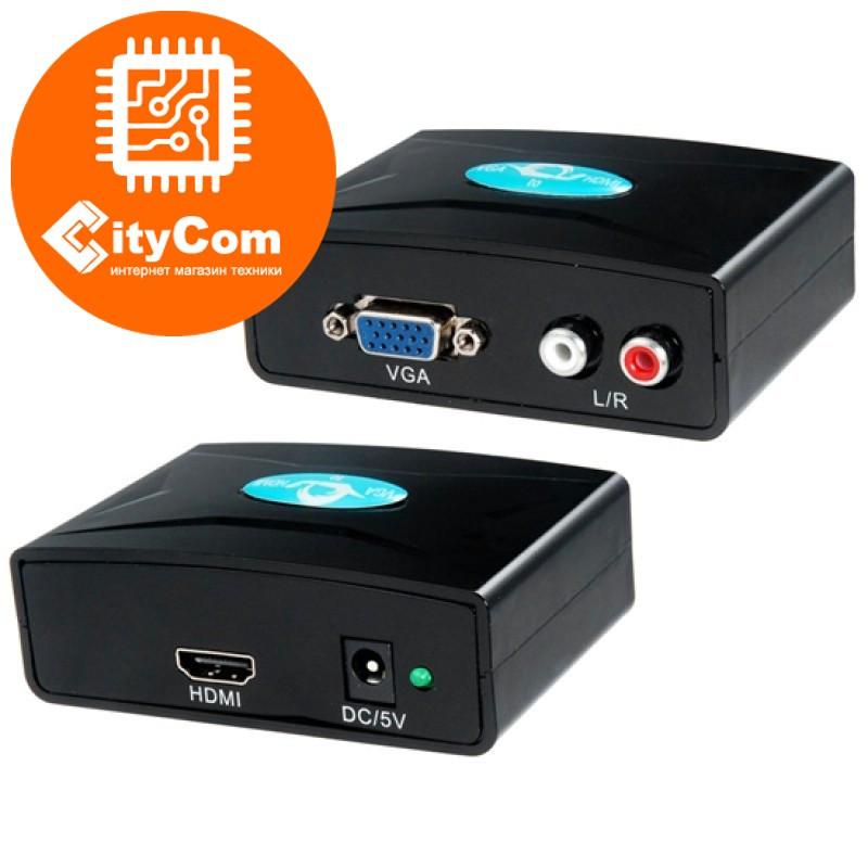 Конвертер VGA - HDMI + sound адаптер переходник