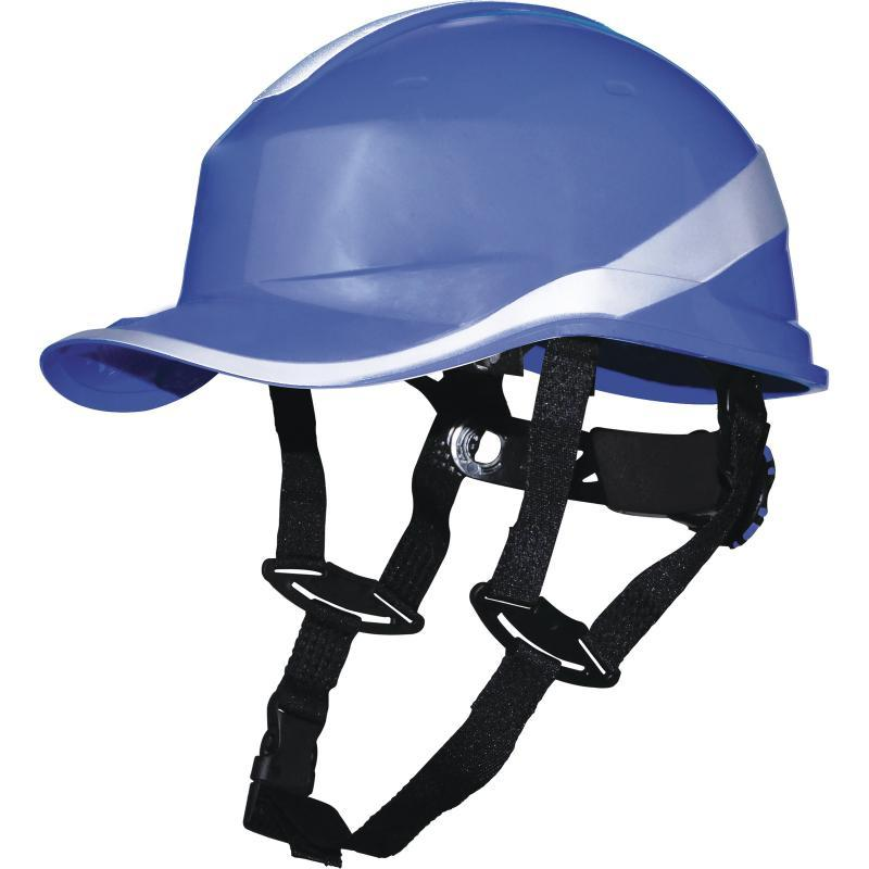 Каска защитная BASEBALL DIAMOND V UP синяя Delta Plus