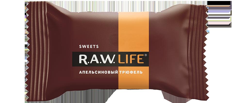 R.A.W. LIFE SWEETS. Бокс, 20 конфет ассорти
