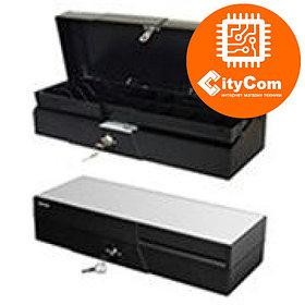 Денежный ящик для купюр и монет (cash drawer) CITAQ CR-2010 Кассовый ящик. Автоматический. Арт.4047