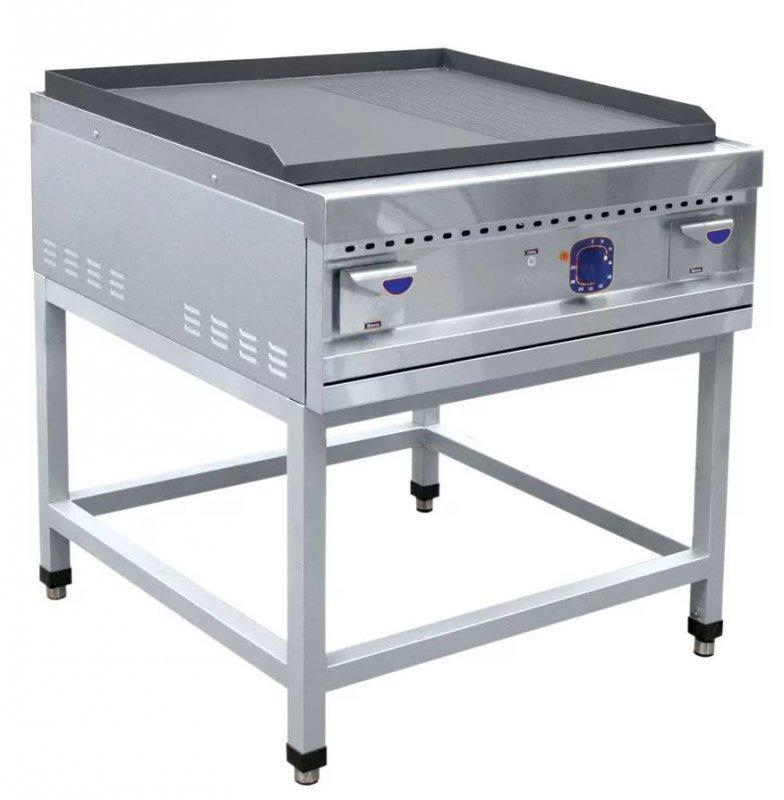 Жарочная поверхность (аппарат контактной обработки) ABAT АКО-90П гладкая/рифленая (серия 900)