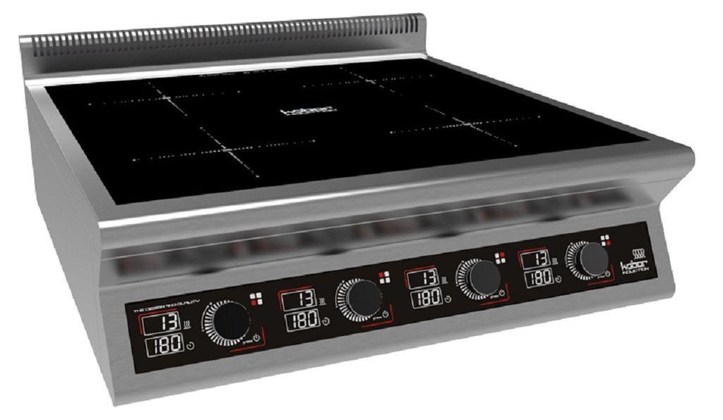 Плита индукционная настольная 6 конфорок I7-6T