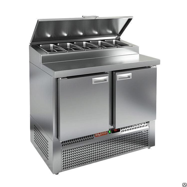 Стол охлаждаемый для салатов (саладетта) HICOLD SL1-11GN