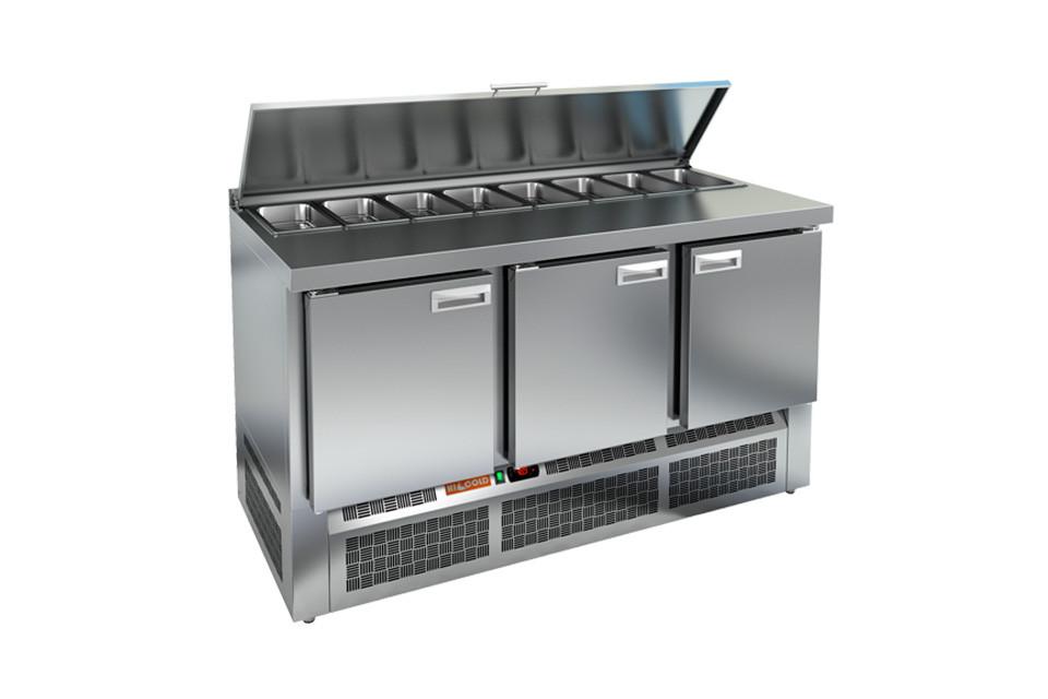 Стол охлаждаемый для салатов (саладетта) HICOLD SL1-111GN
