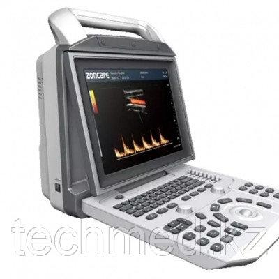Цифровой портативный УЗИ-сканер с цветным, энергет-м, импульсным и постоянным допплером ZONCARE Q3 portable, фото 2