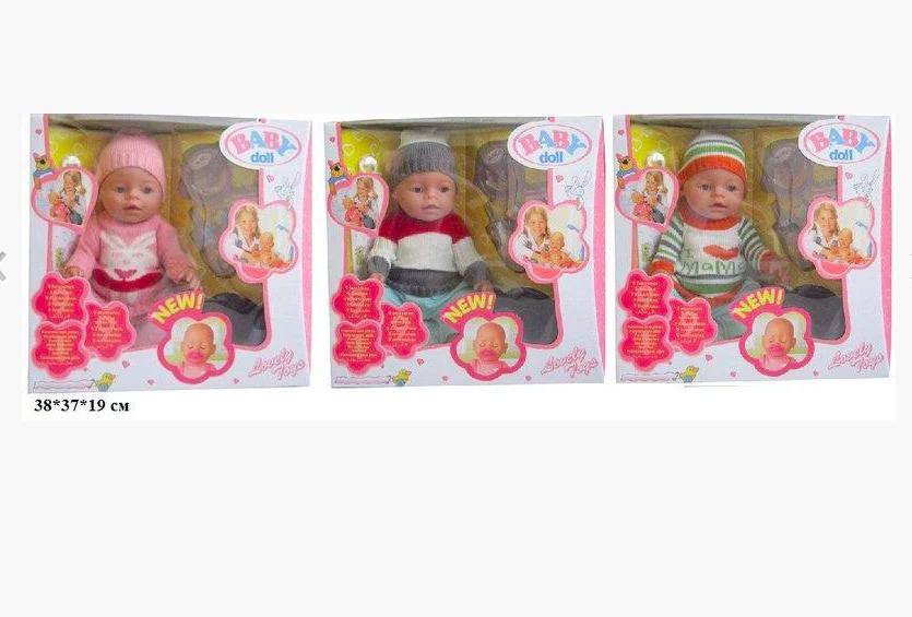 Интерактивный пупс Baby Doll 43 см - фото 2