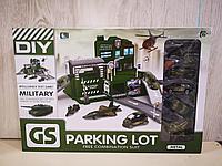 Игровой набор гараж, паркинг с машинками