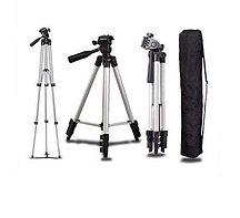 Штатив-тренога TRIPOD 3110 для смартфона/камеры/Action-камеры, со встроенным уровнем и 3d головкой