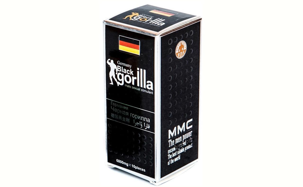 Черная Горилла Black Gorilla 10 таб.