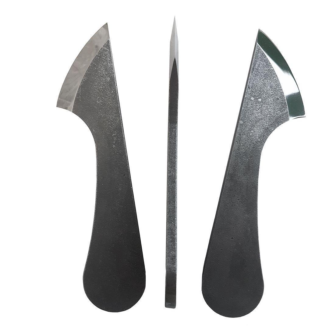 Нож ремесленный ПЕТРОГРАДЪ, римский тип, 200мм, правая заточка