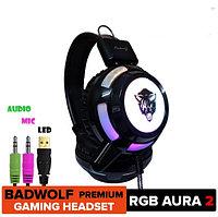 Игровые наушники V8RGB Cool Light с микрофоном и подсветкой