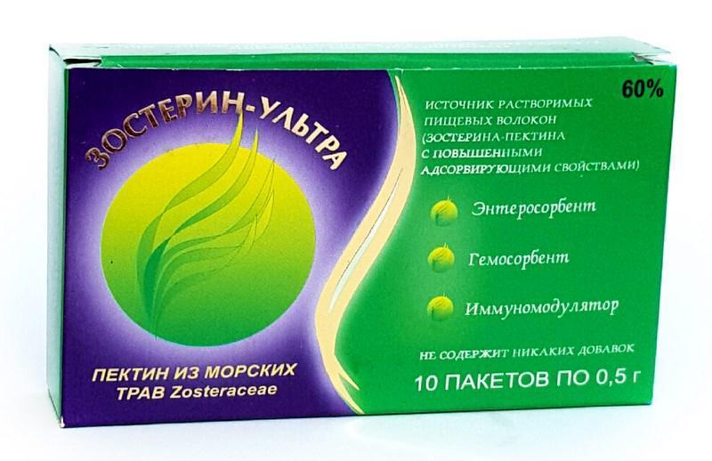 Порошок Зостерин-ультра 60% для печени