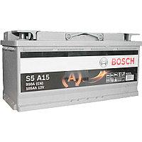 """Аккумулятор BOSCH AGM 105Ah  605901   """"-  +""""  394x175x190 AGM  0092S5A150"""