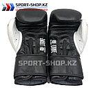 Боксерские перчатки Glory Leone black, фото 3