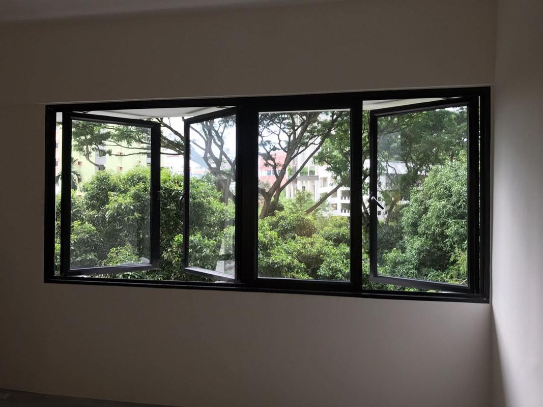Алюминиевые окна - фото 10