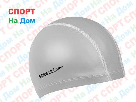 Шапочка для плавания Speedo Bubble Cap (цвет серый)