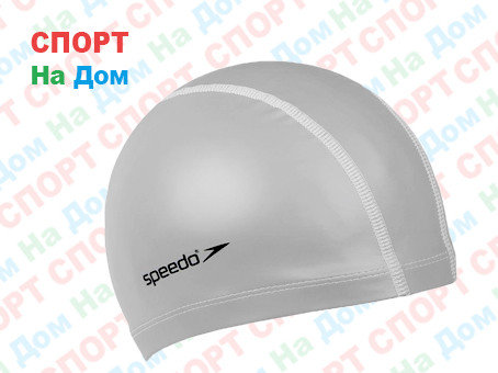 Шапочка для плавания Speedo Bubble Cap (цвет серый), фото 2