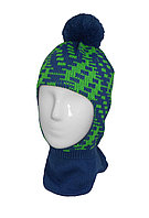 Шапка Шлем 55 grans мальч рисунок бубон