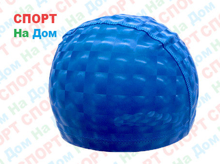 Шапочка для плавания SPEEDO (цвет синий), фото 2