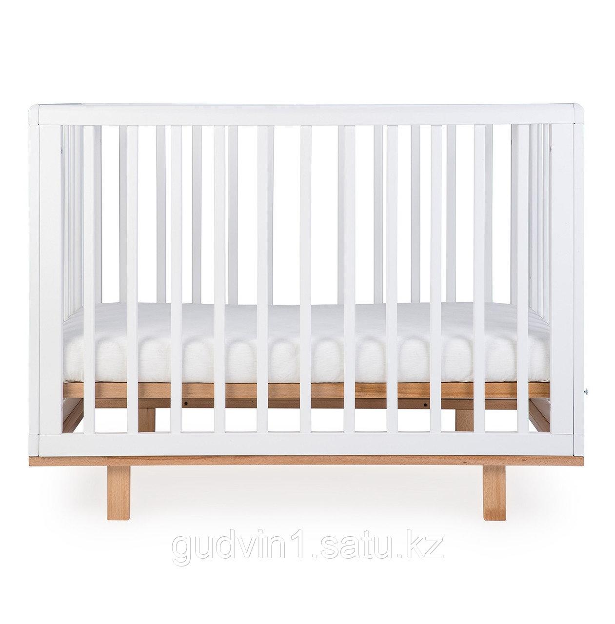 """Кроватка детская  Happy Baby """"MIRRA"""" белая 01-04617"""