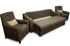 Кресло традиционное как часть комплекта Мальта 1М, Quatro 02/ Quatro 14, Мебельный Формат (Россия), фото 2