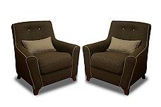 Кресло традиционное как часть комплекта Мальта 1М, Quatro 02/ Quatro 14, Мебельный Формат (Россия), фото 3