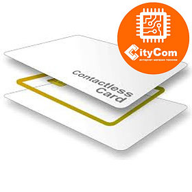 RFID бесконтактная Proximity карта стандарта Em-Marin EM4100, под печать Арт.3940
