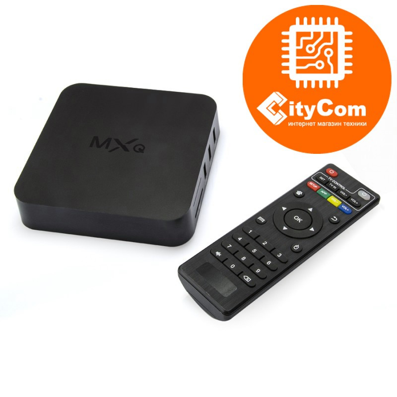 Приставка Android TV box к телевизору, ОС Андроид ТВ Mini PC MX-Q (S805) Арт.4183