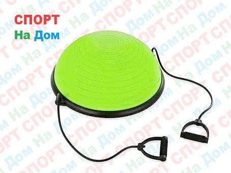 Полусфера гимнастическая зеленая для BOSU (диаметр 59 см), фото 2
