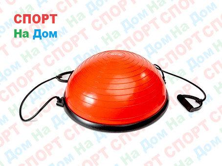 Полусфера гимнастическая красная для BOSU (диаметр 59 см), фото 2