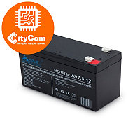 Батарея аккумулятор UPS SVC 12V 7,5Ah для источника бесперебойного питания. Арт.1022