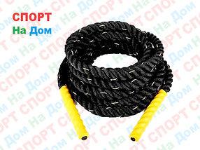 Канат для кроссфита 9 метров диаметр 50 мм. крученный